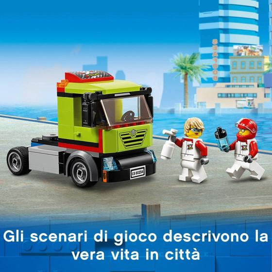 Lego City 60254 Trasportatore di Motoscafi Lego - 4