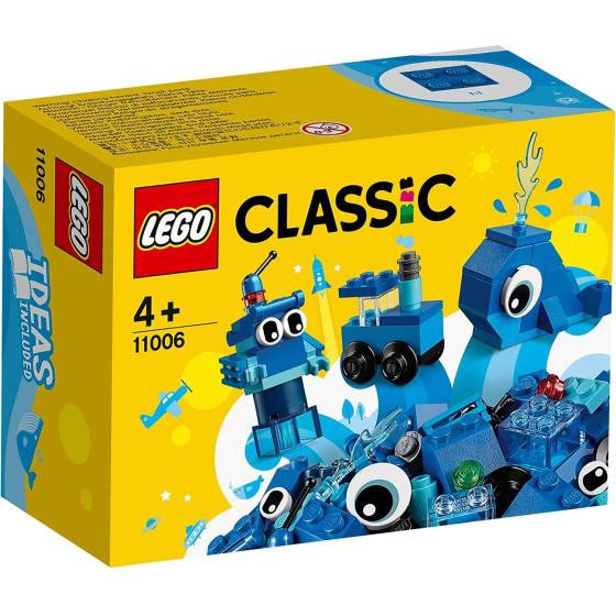 Lego Classic 11006 Mattoncini Creativi Blu Lego - 7