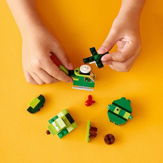 Lego Classic 11007 Mattoncini Verdi Creativi Lego - 6