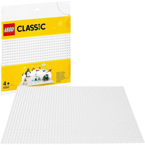 Lego Classic 11010 Base Bianca Lego - 4