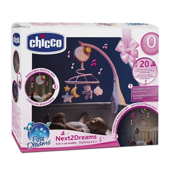 Giostrina Degli Orsetti Fisher Price Cdn41 Rosa Chicco - 3