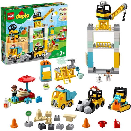 Lego Duplo 10933 Cantiere edile con gru e torre Lego - 4