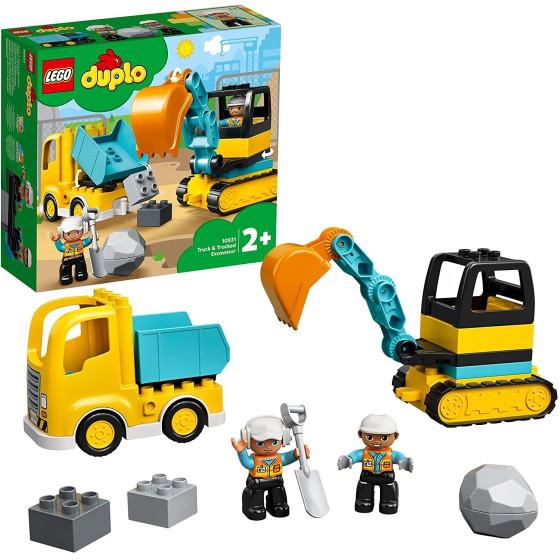 Lego Duplo 10931 Set da costruzione Camion e Scavatrice Lego - 2