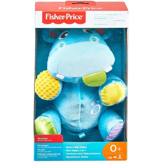 Ippopotamo Peluche Ippo Palla GFC35 Fisher Price - 6