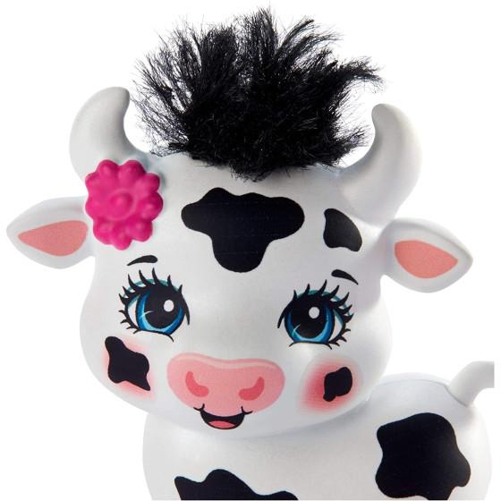 Enchantimals Cambrie Bambola con Cuccioli di Mucca GJX44 Mattel - 4