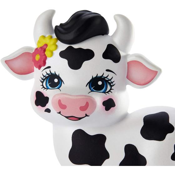 Enchantimals Cambrie Bambola con Cuccioli di Mucca GJX44 Mattel - 6