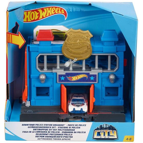 Hot Wheels Stazione di Polizia FRH33 Mattel - 5