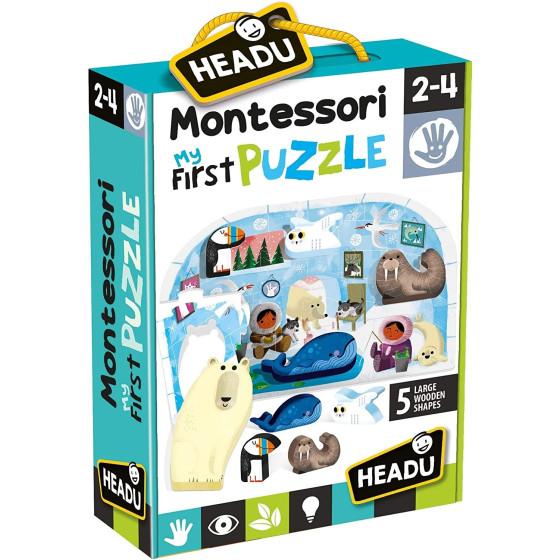 Montessori Il mio primo puzzle Il Polo Headu - 2