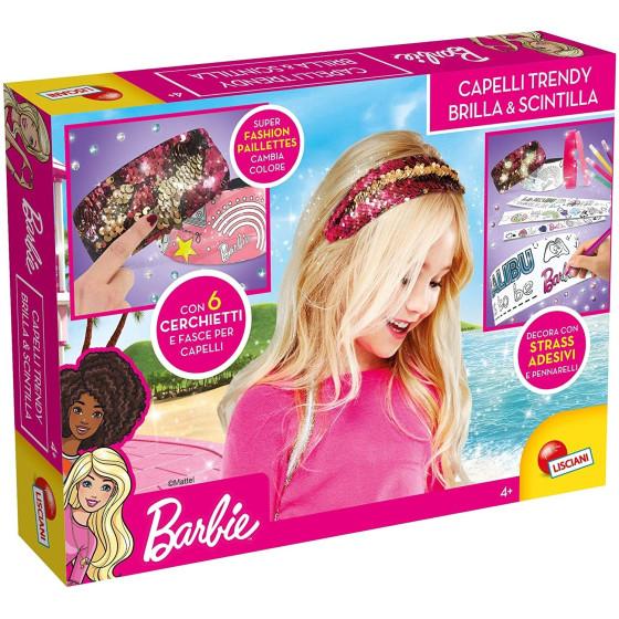 Barbie Capelli Trendy Brilla e Scintilla 75126 Lisciani - 4