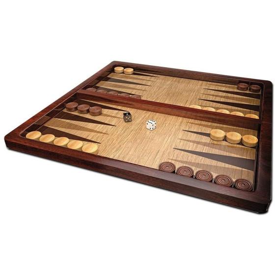 Gioco da tavolo in legno backgammon 6043891 Editrice Giochi - 1