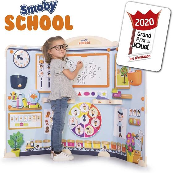 Lavagna Deluxe School con 80 Accessori Smoby - 5