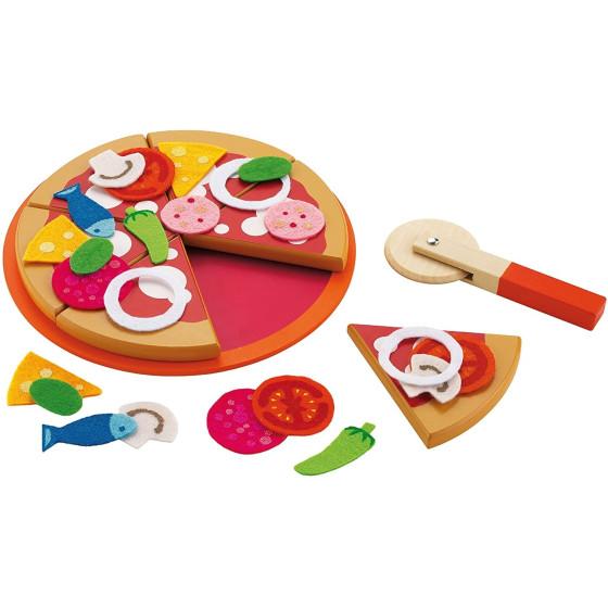 Gioco in Legno Set pizza 82319 Trudi - 1