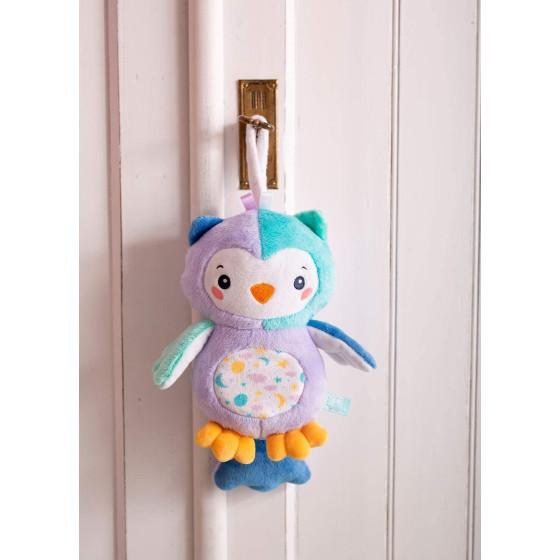 Carillon Bambino Gufo Goodnight owl luci e suoni 17268 Clementoni - 5