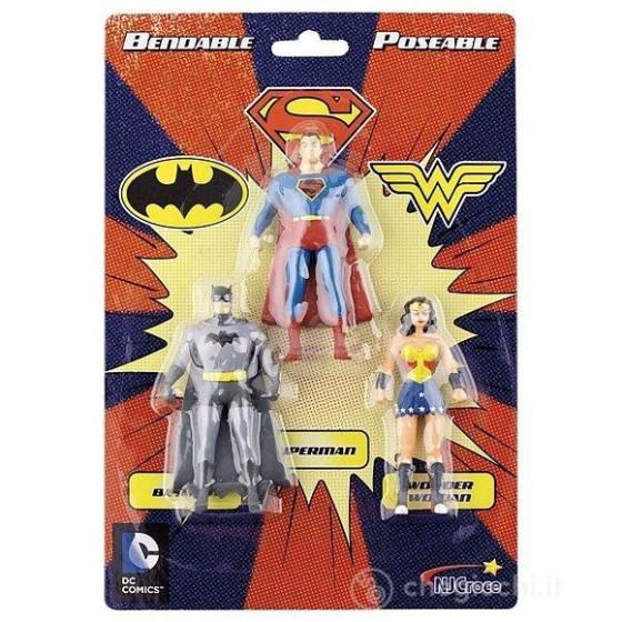 Pacchetto Super eroi DC Vintage Batman, Superman e Wonder Woman NJ Croce - 2