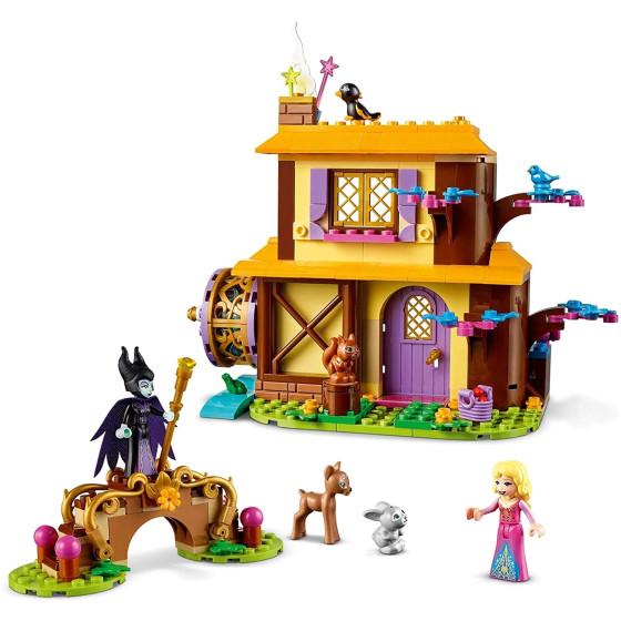 Lego Disney Princess 43188 La Casetta nel Bosco di Aurora Lego - 4