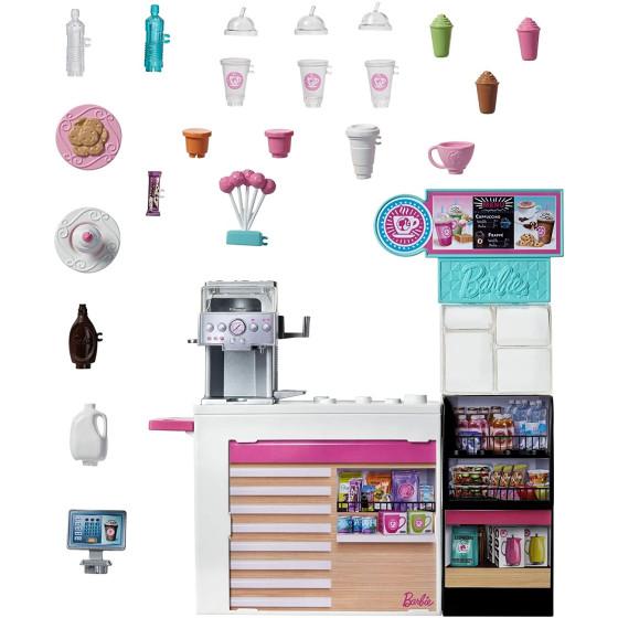 Barbie Playset La Caffetteria, con Barbie Curvy , GMW03 Mattel - 3