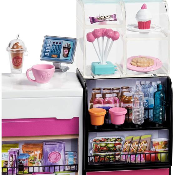 Barbie Playset La Caffetteria, con Barbie Curvy , GMW03 Mattel - 4