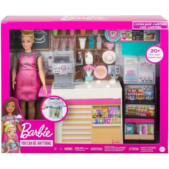Barbie Playset La Caffetteria, con Barbie Curvy , GMW03 Mattel - 7