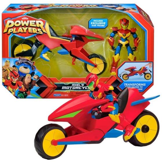Power Players Veicolo Moto con Axel Giochi Preziosi - 3