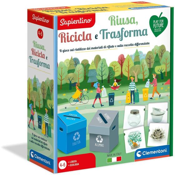 Sapientino Riusa, Ricicla e Trasforma 16273 Clementoni - 5