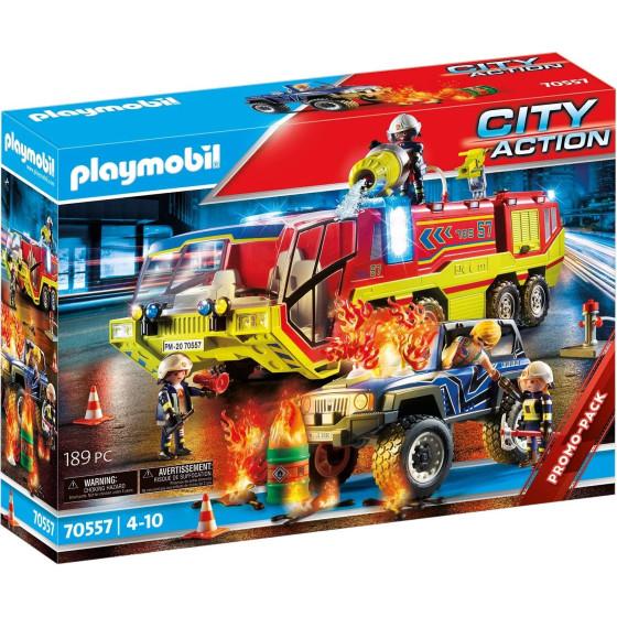 Playmobil City Action 70557 - Camion Dei Vigili Del Fuoco Playmobil - 4