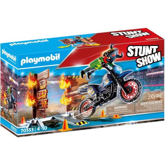 Playmobil Stunt Show 70553 - Moto Da Acrobazie Playmobil - 3