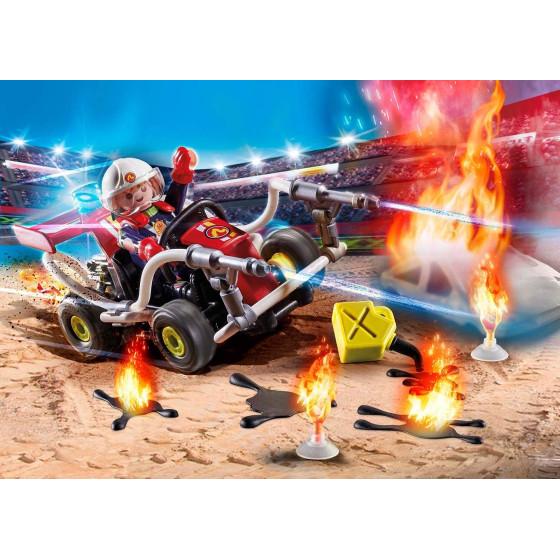 Playmobil Stunt Show 70554 - Kart Antincendio Playmobil - 3