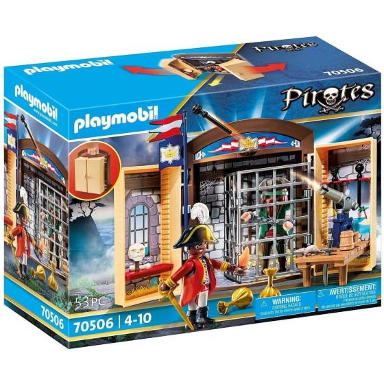 Playmobil Pirates 70506 - Avamposto Della Marina Con Pirata Playmobil - 1