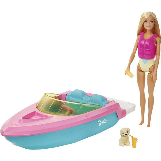 Barbie con Barca e Bambola GRG30 Mattel - 2
