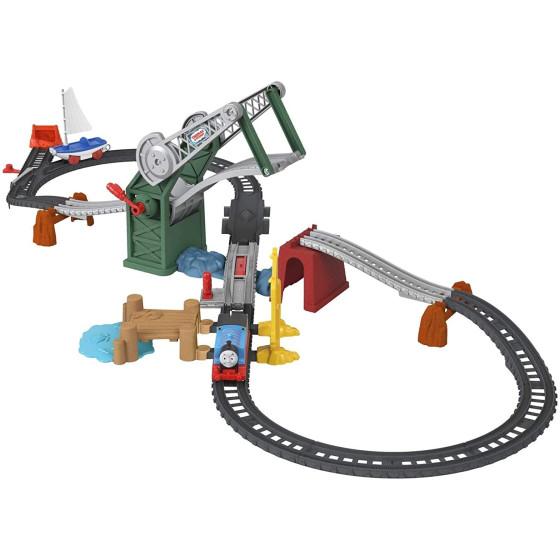 Il Trenino Thomas Set Ponte Levatoio con Thomas e Skiff GWX09 Fisher Price - 4