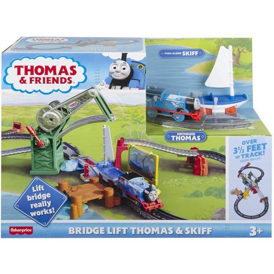 Il Trenino Thomas Set Ponte Levatoio con Thomas e Skiff GWX09 Fisher Price - 5