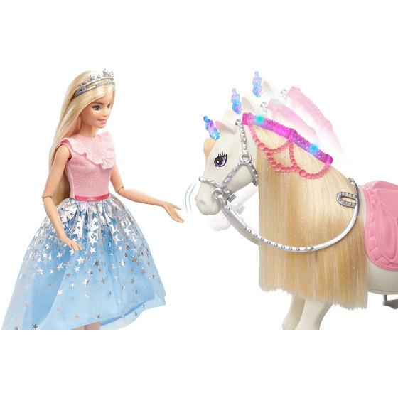 Barbie Princess Adventure Cavallo e Bambola Barbie Principessa GML79 Mattel - 2