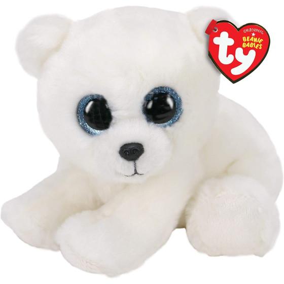 Peluche Ty Beanie Babies Orso Bianco Adri 15 cm Ty - 1