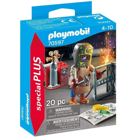 Playmobil Special Plus 70597 fabbro con fiamma ossidrica Playmobil - 2