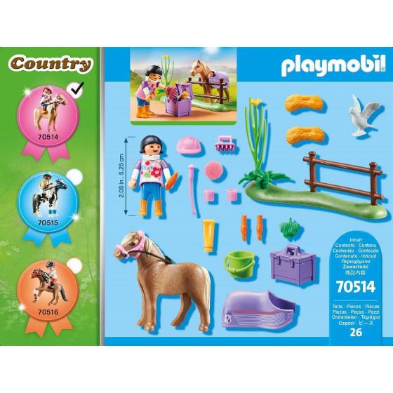 Playmobil Country 70514 Pony Icelandic Playmobil - 5