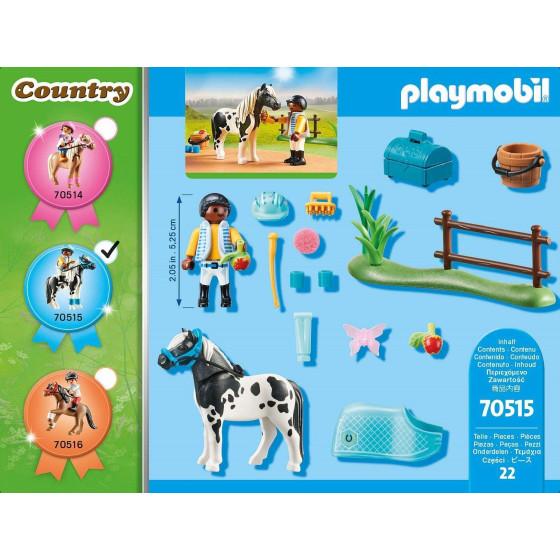 Playmobil Country 70515 Pony Lewitzer Playmobil - 5