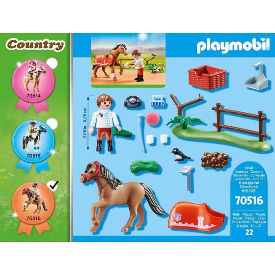 Playmobil Country 70516 Pony Connemara Playmobil - 3