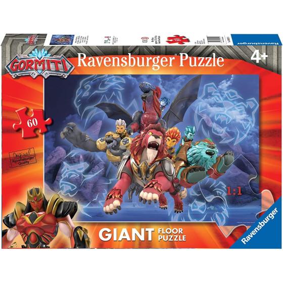 Puzzle Gormiti 60 Pezzi 70x50 Ravensburger - 2