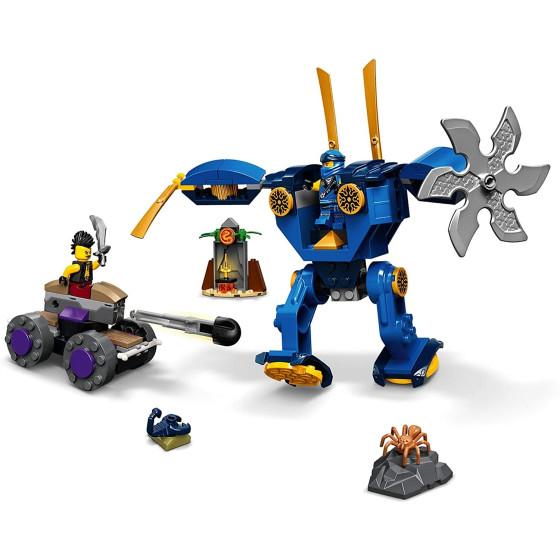 Lego Ninjago 71740 Electro Mech di Jay Lego - 3