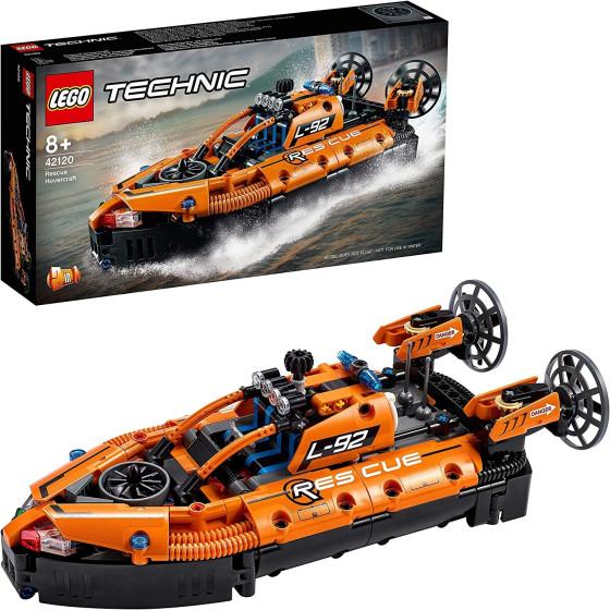 Lego Technic 42120 Hovercraft di Salvataggio e Aereo Bimotore 2 in 1 Lego - 4