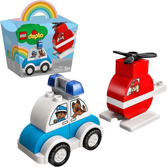 Lego Duplo 10957 Elicottero Antincendio e Auto della Polizia Lego - 2