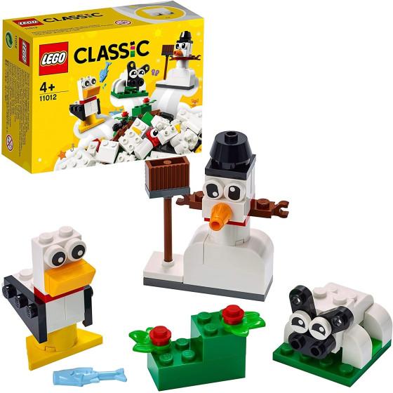 Lego Classic 11012 Mattoncini Bianchi Creativi Lego - 2