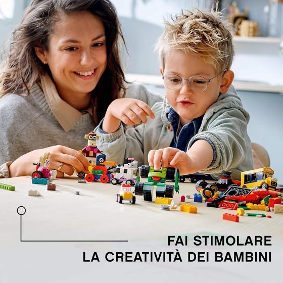 Lego Classic 11014 Mattoncini e Ruote Lego - 4