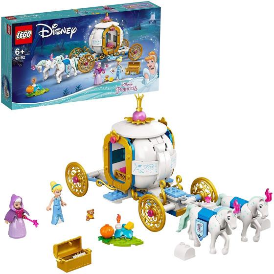 Lego Disney Princess 43192 La Carrozza Reale di Cenerentola Lego - 3