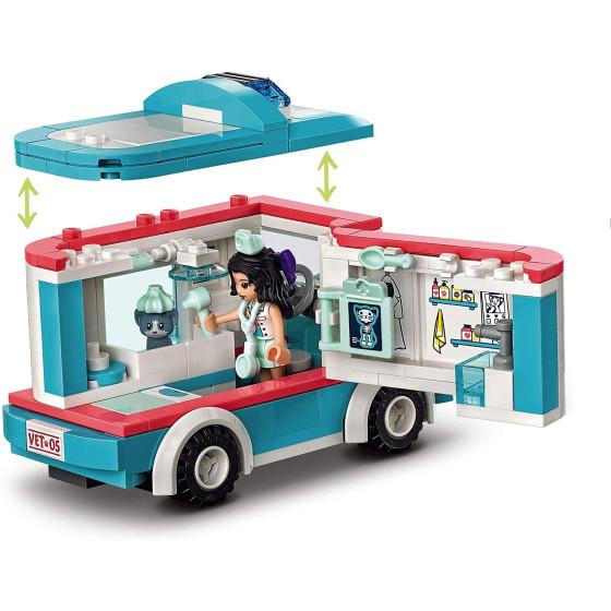 Lego Friends 41445 L'Ambulanza della Clinica Veterinaria Lego - 4
