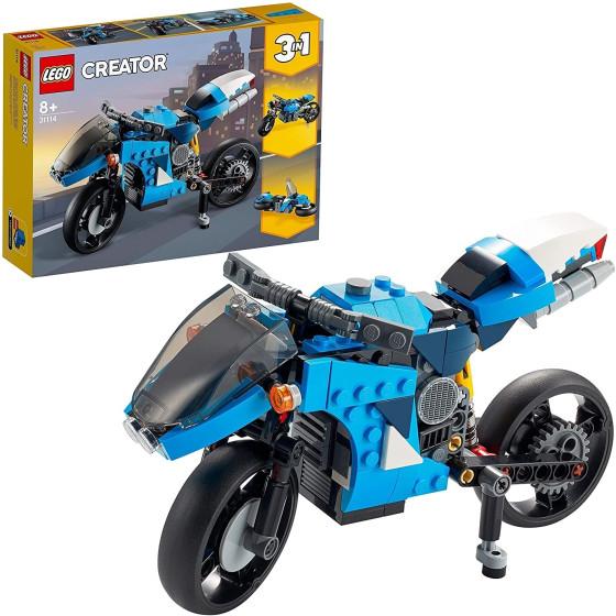 Lego Creator 31114 Superbike, Moto Classica e Hoverbike 3 in 1 Lego - 2