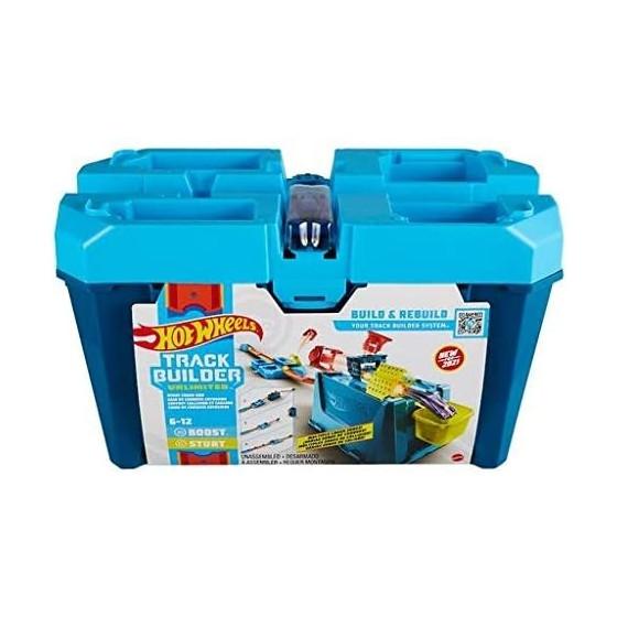 Hot Wheels Track Builder Unlimited Stunt Crash Box GVG09 Mattel - 2