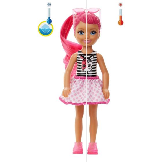 Barbie Color Reveal Chelsea Serie Monocolor GTT24  Mattel - 5