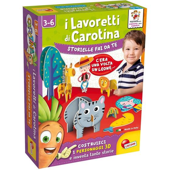 I Lavoretti di Carotina Storielle Fai da Te 85552 Lisciani - 3