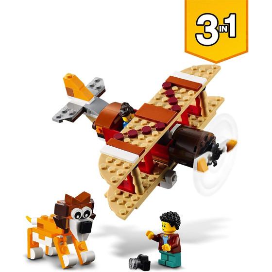 Lego Creator 31116 Casa Sull'Albero del Safari, Biplano e Catamarano 3 in 1 Lego - 3
